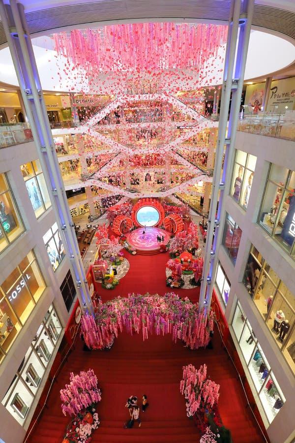 KUALA LUMPUR, MALAYSIA- JANUARY 25, 2018: -Pavilion Mall, Bukit royalty free stock images