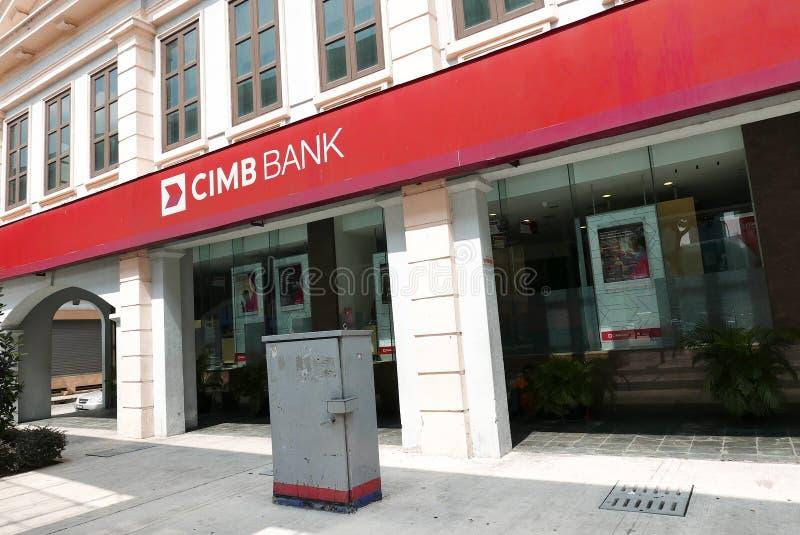 CIMB Bank Malasia editorial photography  Image of banking