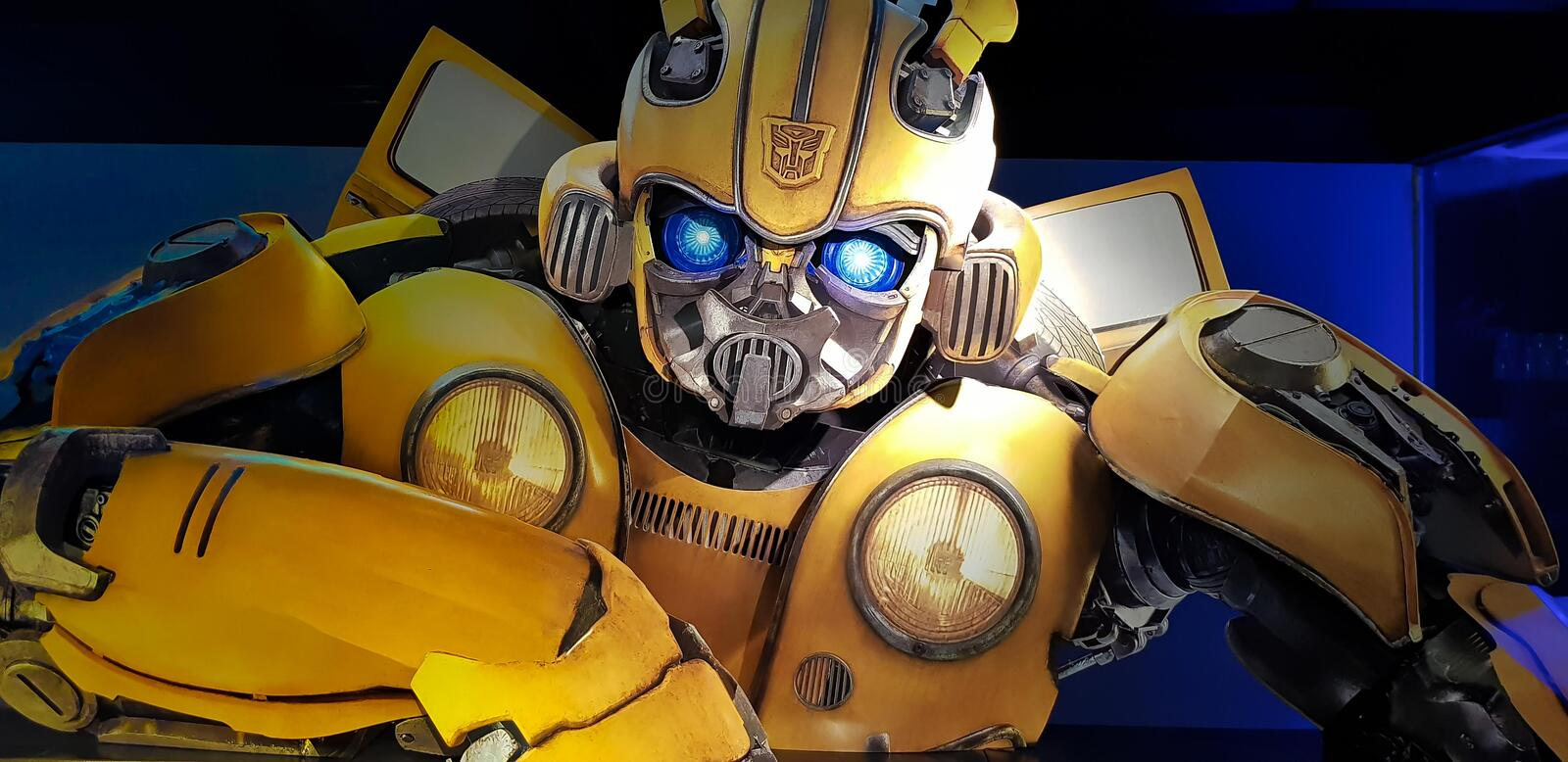Bumblebee Movie Poster royalty free stock image