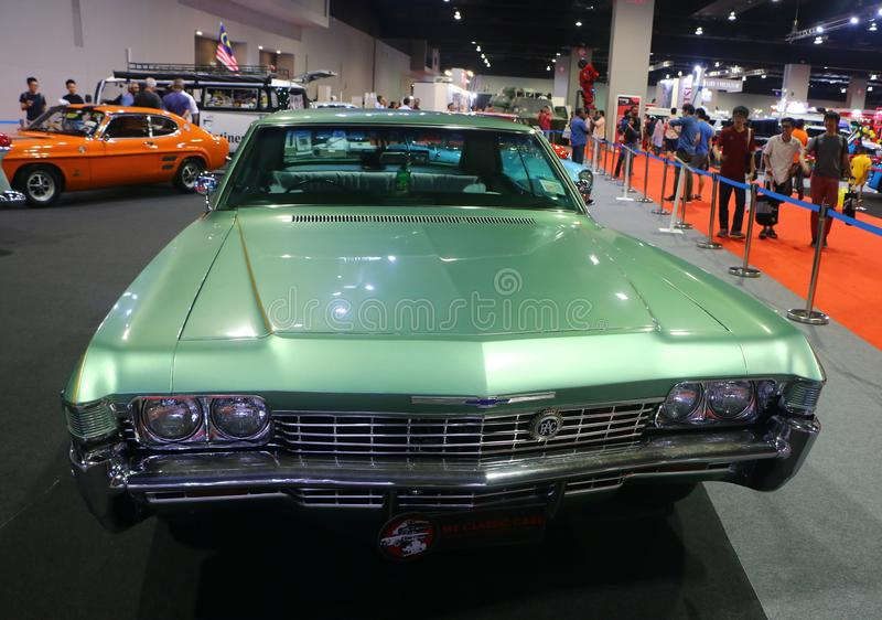 Chevrolet Impala 1968 is a car built by Chevrolet Division of General Motors Company. royalty free stock photo