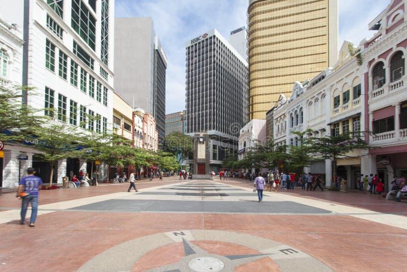 KUALA LUMPUR, MALAYSIA - OCTOBER 23: Merdeka Square in downtown royalty free stock photo