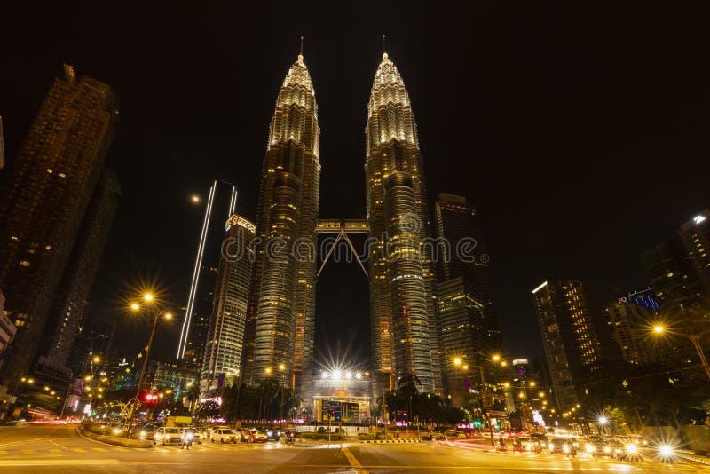 KUALA LUMPUR/MALAYSIA - 21-04-2019 Zadziwia? architektura KLCC zdjęcia royalty free