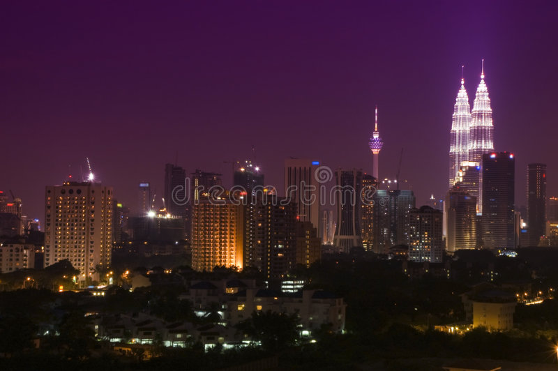 Kuala Lumpur Maleisië royalty-vrije stock foto's