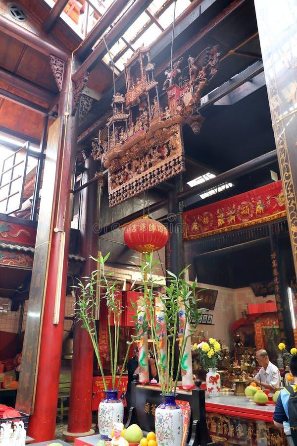 KUALA LUMPUR, MALEISIË 19 AUGUSTUS, 2017: Zonde Sze Si Ya Temple wa royalty-vrije stock fotografie