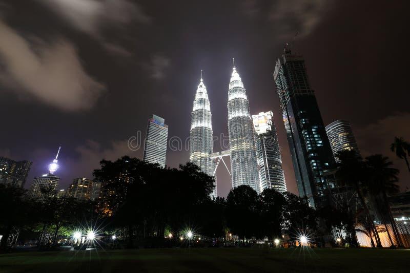"KUALA LUMPUR, 31 Maleisië-December, de Tweelingtoren van 2016 †""Petronas stock foto"