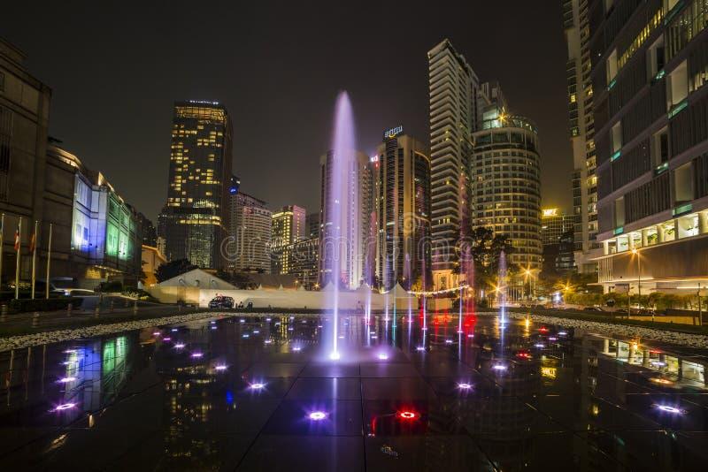 KUALA LUMPUR, MALEISIË - MAART 11 2014 Petronas stock foto's