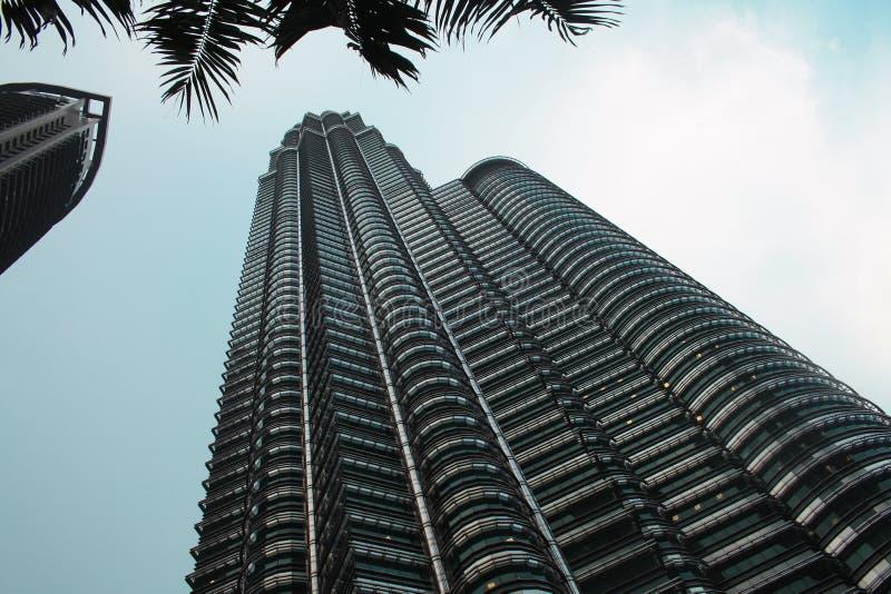 Kuala Lumpur, Malesia La torre gemella di KLCC, edificio di Petronas immagine stock