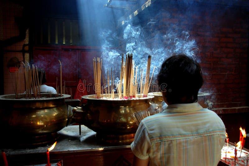 Kuala Lumpur, Malesia: Tempiale di Sze Si Ya di peccato fotografia stock libera da diritti