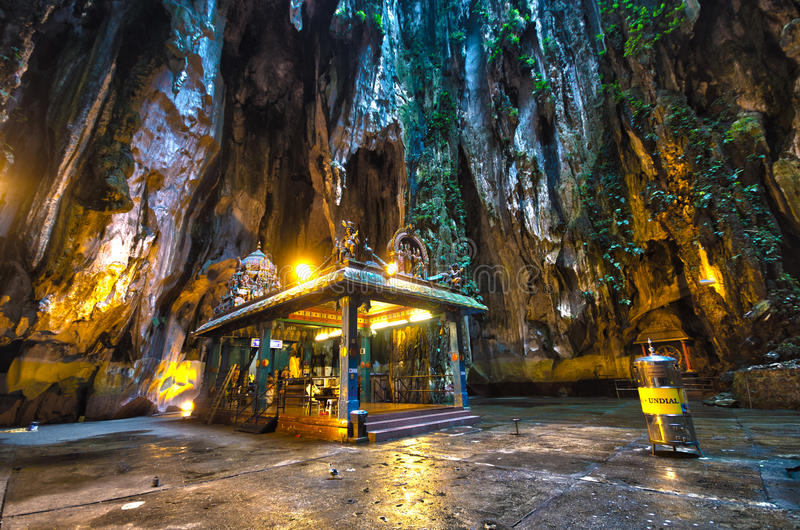 Kuala Lumpur Malezja Batu Zawala się obraz royalty free