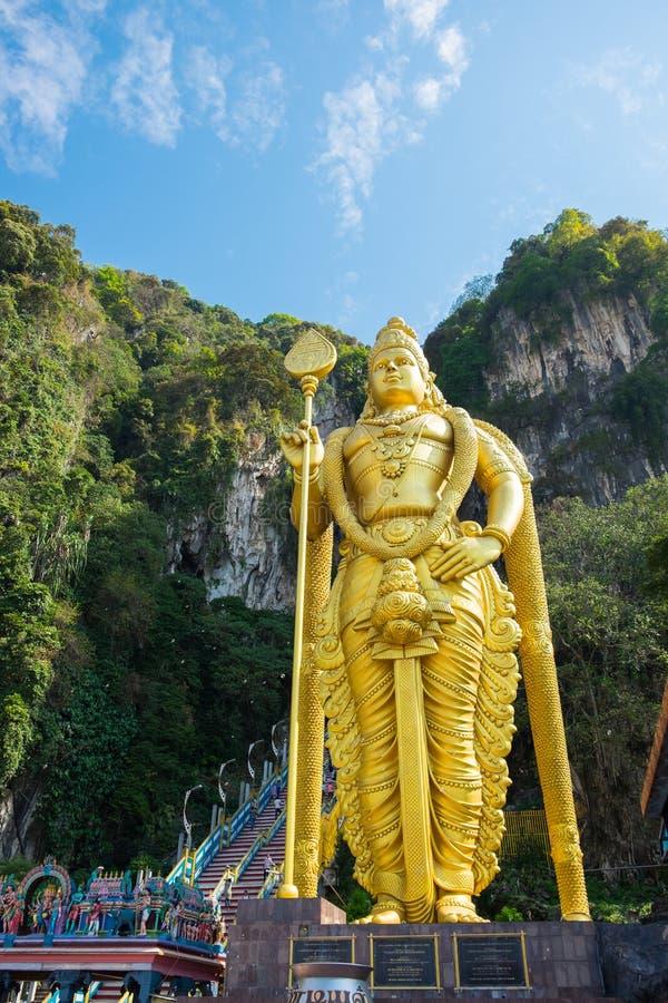 KUALA LUMPUR MALEZJA, MARZEC, - 1: Statua Murugan, Hinduski dei zdjęcie stock
