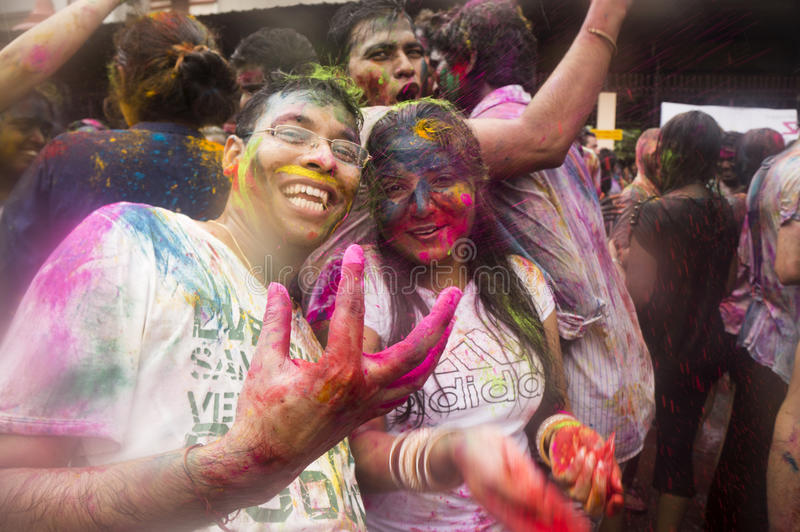 Download Enjoying the Festival editorial photo. Image of indian - 30184706