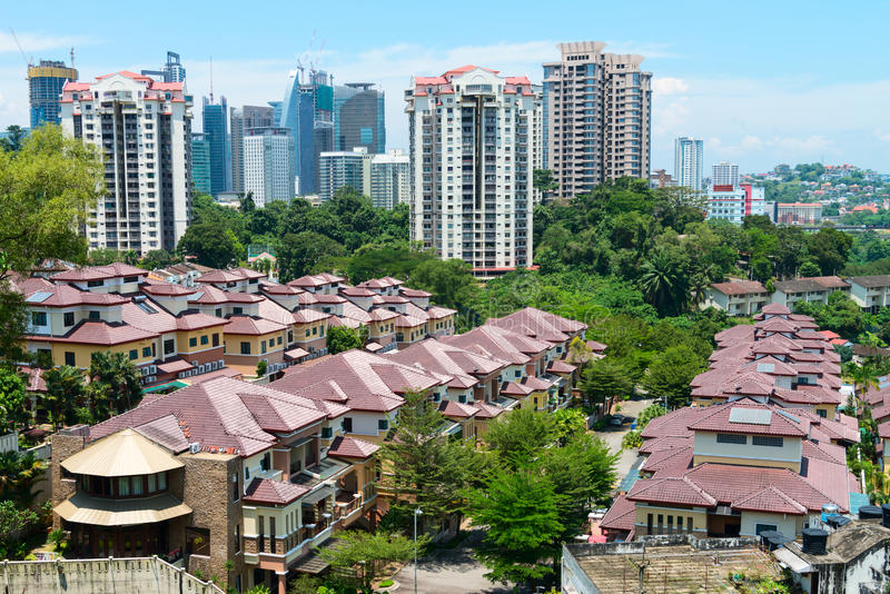 Download Kuala Lumpur Modern City Skyline Editorial Photography - Image: 98764457