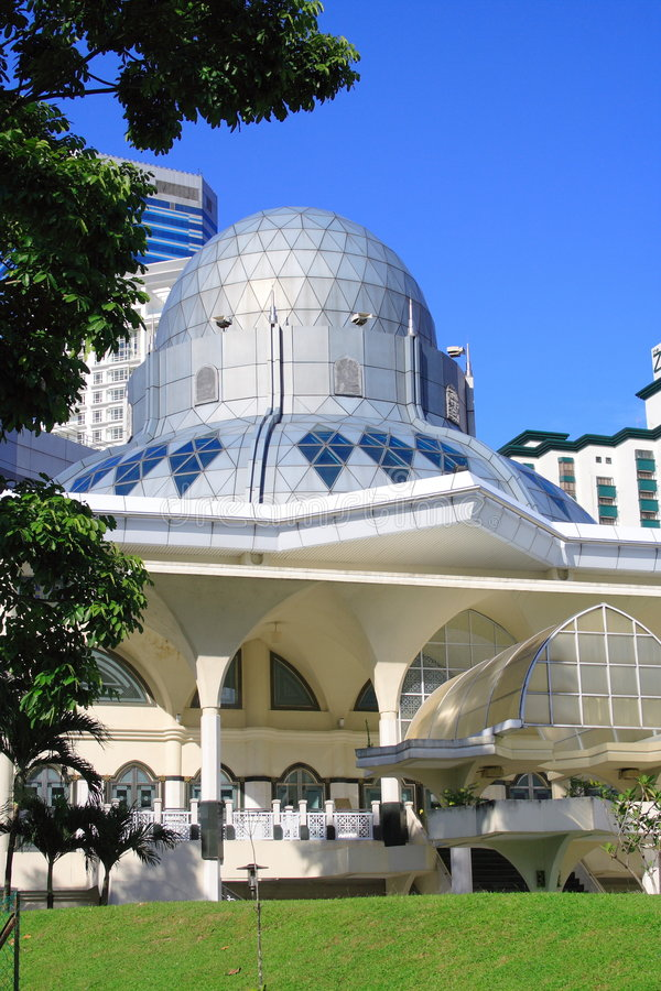 Kuala Lumpur Mosque stock images