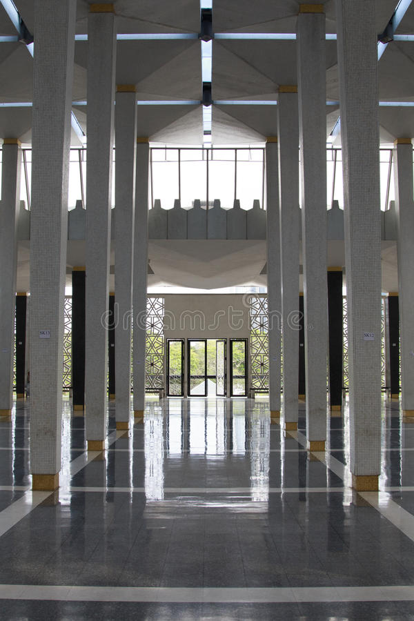 Kuala Lumpur Mosque Citys-scape lizenzfreie stockfotografie