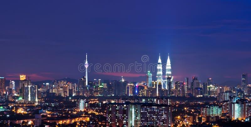 Kuala Lumpur pejzaż miejski zdjęcia royalty free