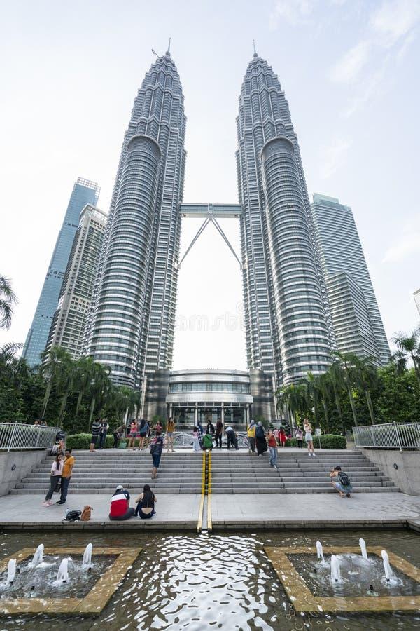 kuala Lumpur Petronas góruje bliźniaka obrazy stock