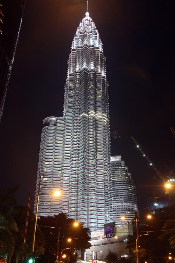 Kuala Lumpur Petronas torn royaltyfri foto