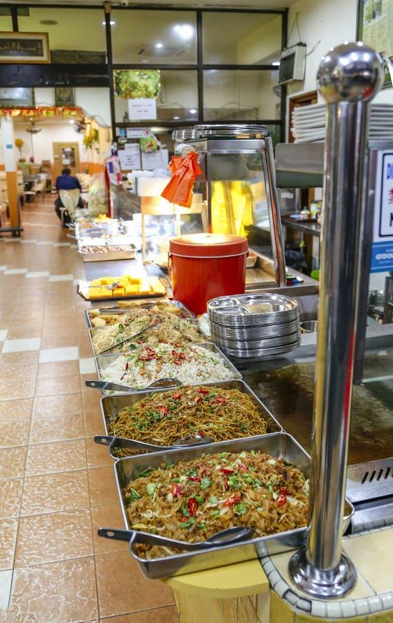 Kuala Lumpur Restaurant Buffet Food imagem de stock royalty free