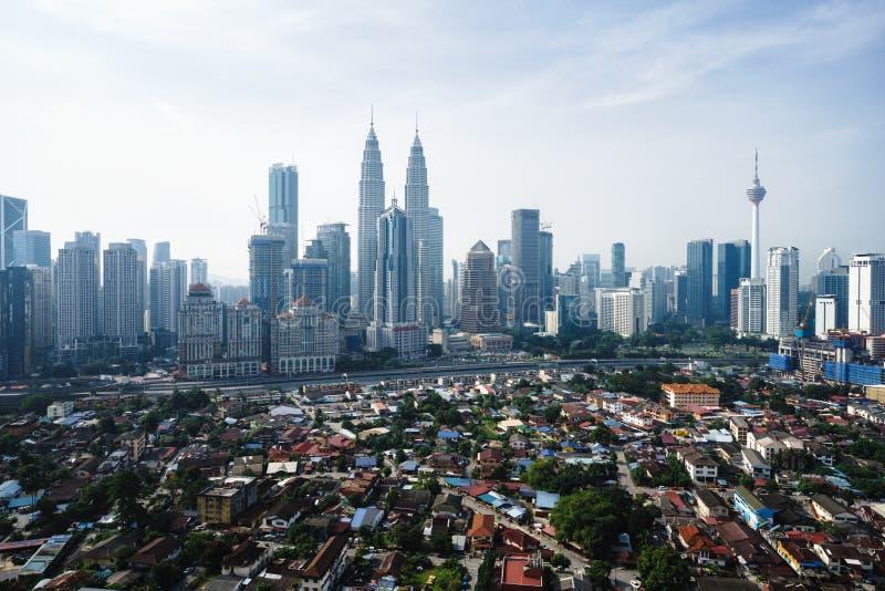 Kuala Lumpur Skyline immagini stock libere da diritti