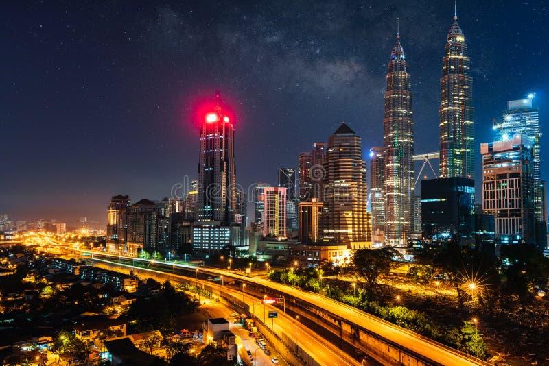 Kuala Lumpur Skyline imagens de stock royalty free