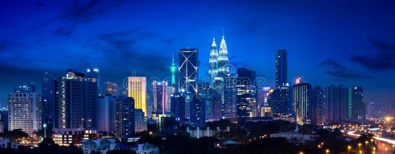 Kuala Lumpur Skyline fotos de stock