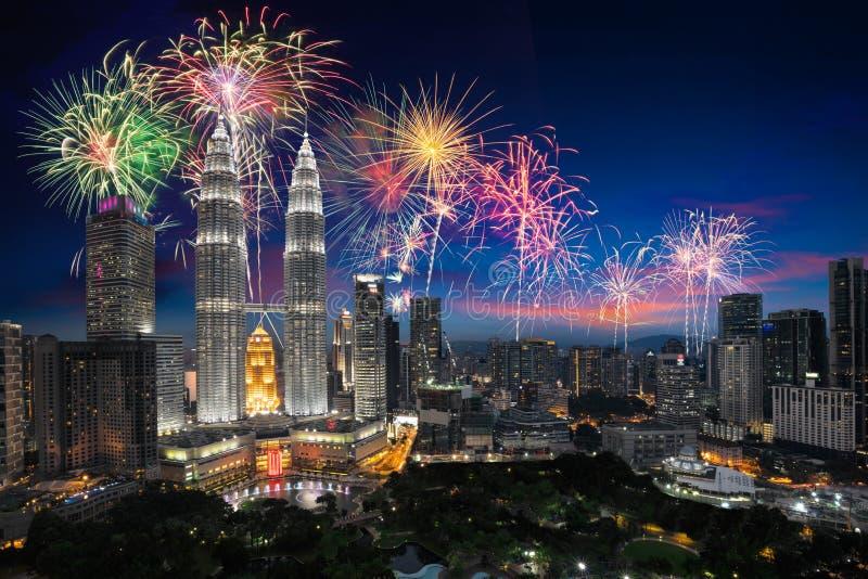 Kuala Lumpur Skyline fotografia de stock royalty free