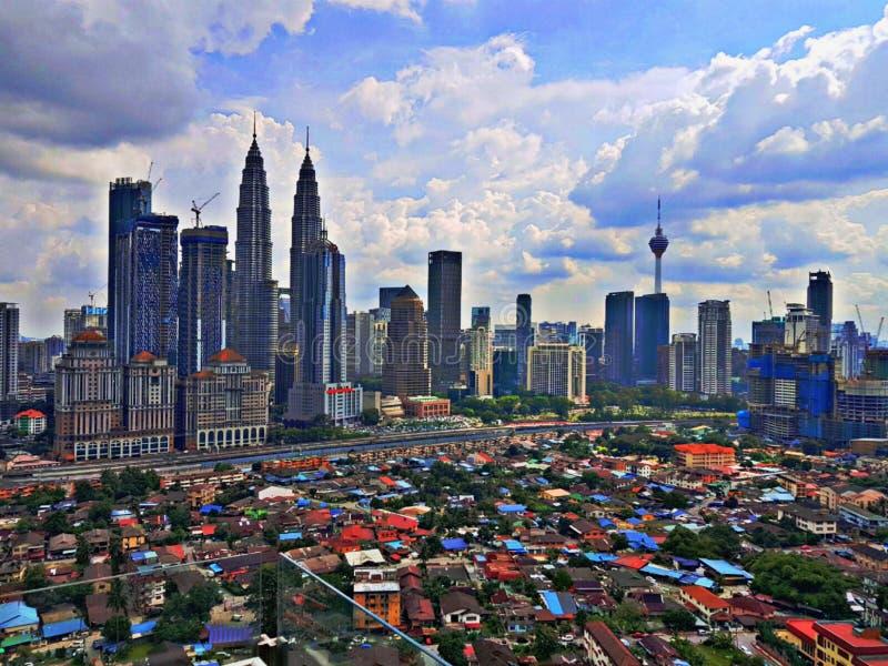 Kuala Lumpur Skyline fotografia de stock