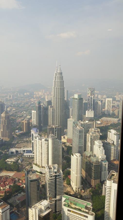 Kuala Lumpur Skyview obraz royalty free