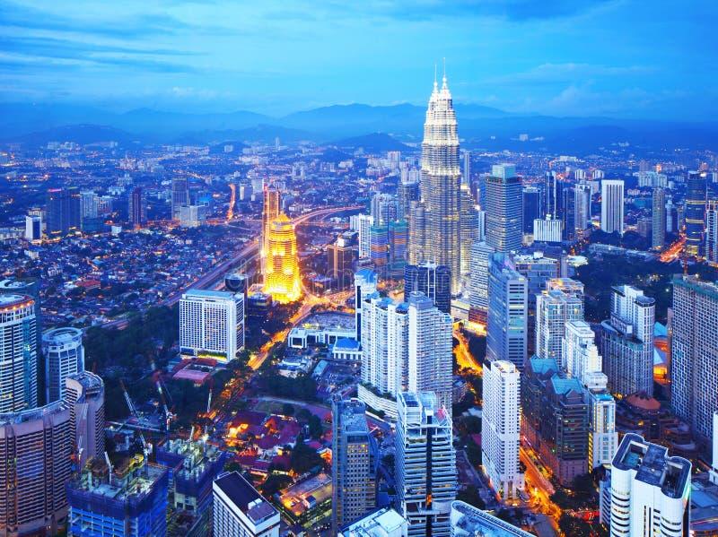 Kuala Lumpur-Stadtbild lizenzfreies stockfoto