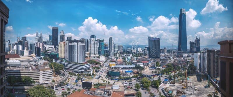 Kuala Lumpur, stolica Malezji zdjęcia royalty free
