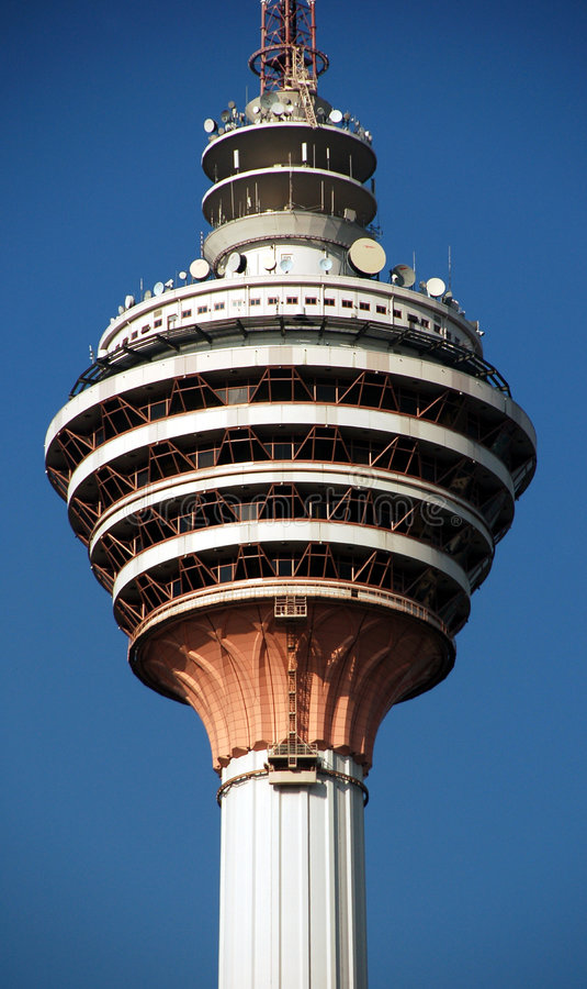 Kuala Lumpur tower3 imagens de stock