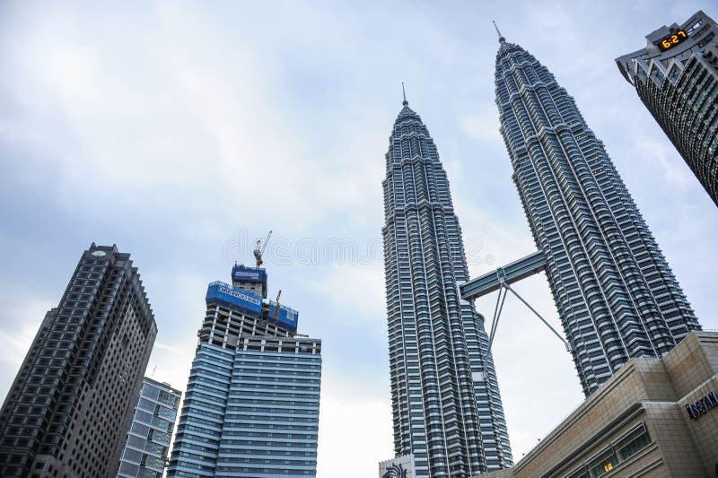 Kuala Lumpur Twin Tower, Kuala Lumpur Malaysia photos stock
