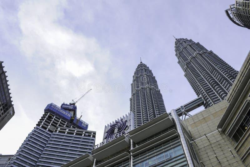 Kuala Lumpur Twin Tower, Kuala Lumpur Malaysia images stock