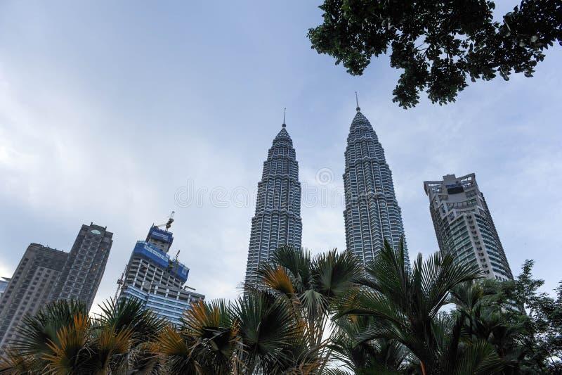 Kuala Lumpur Twin Tower, Kuala Lumpur Malaysia photographie stock libre de droits