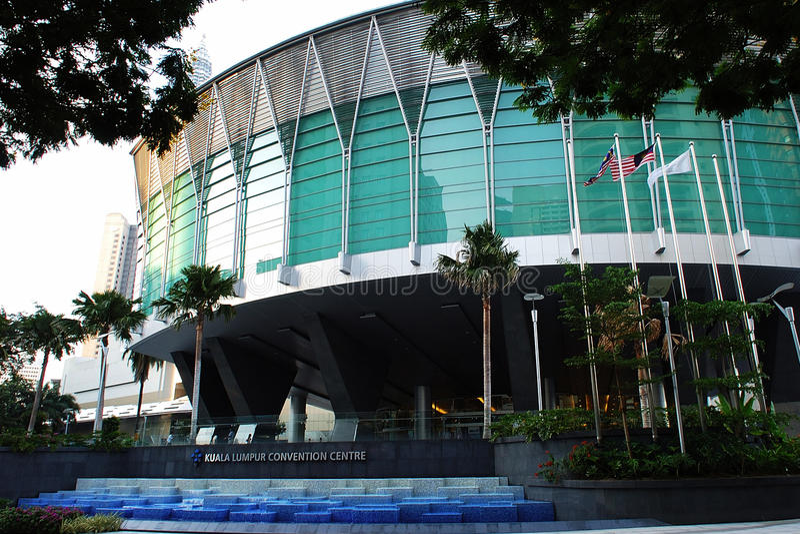 Kuala- LumpurKonferenzzentrum stockbild