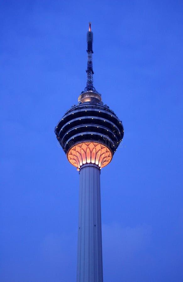 Kuala- Lumpurkontrollturm lizenzfreie stockfotografie