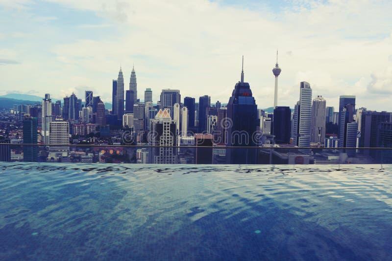 Kuala- Lumpurstadt-Ansicht stockfotos