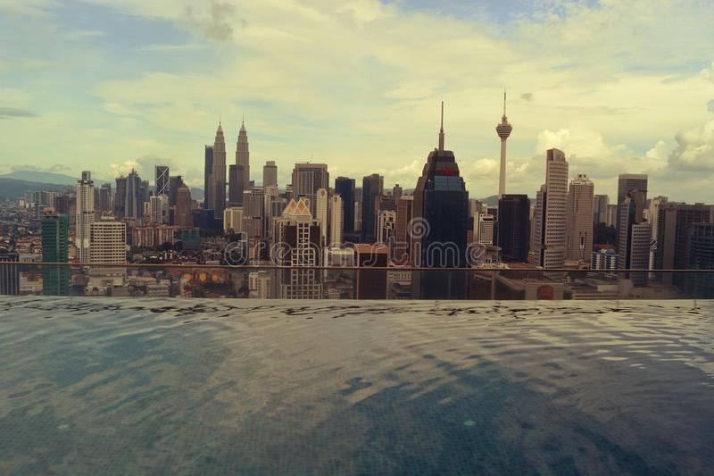 Kuala- Lumpurstadt-Ansicht lizenzfreies stockfoto