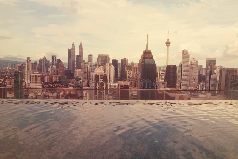 Kuala- Lumpurstadt-Ansicht lizenzfreie stockfotografie