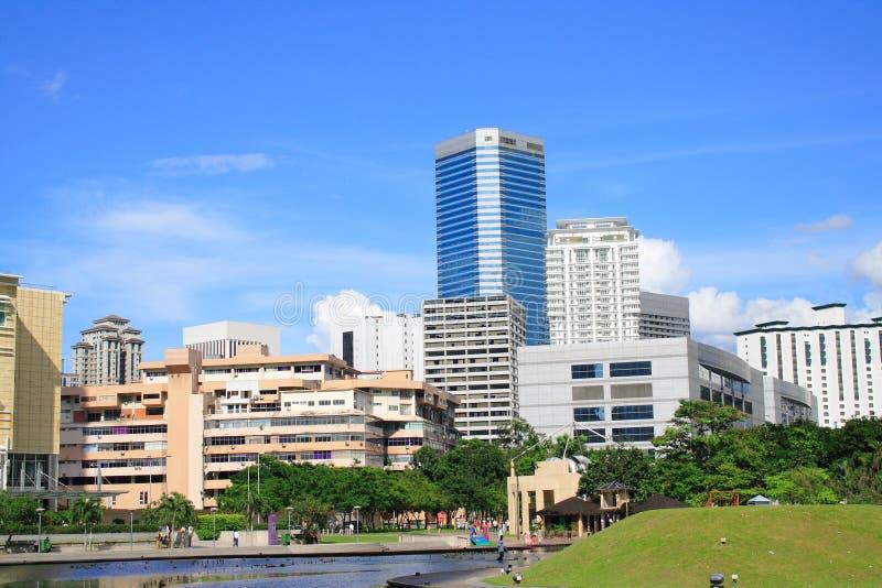 Kuala- LumpurStadtbild stockbild