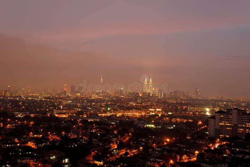 Kuala- LumpurStadtbild lizenzfreies stockbild