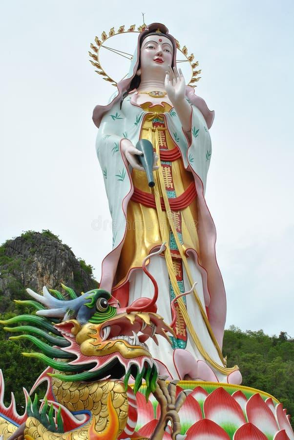kuan άγαλμα yin στοκ φωτογραφία