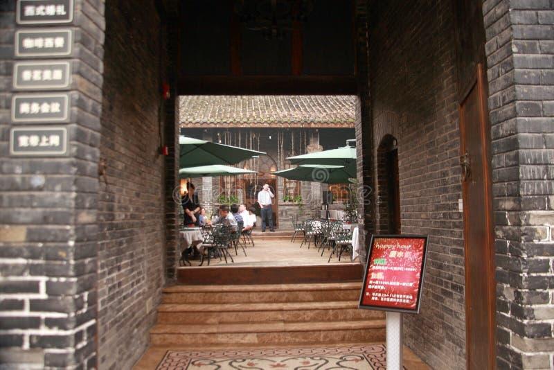 Kuan Alley und Zhai Alley in Chengdu stockbilder