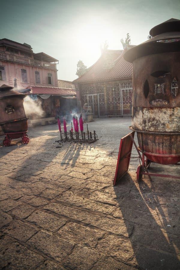 Kuan Yin Teng, temple de la déesse de la pitié, Penang - Malaisie photos libres de droits