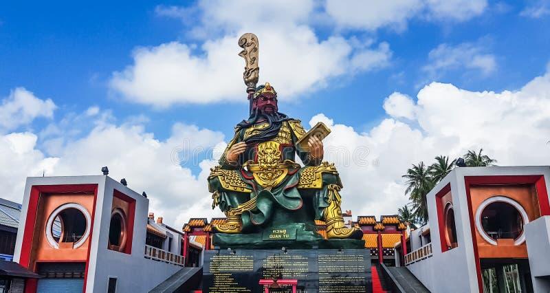 Kuan Yu statua zdjęcie stock