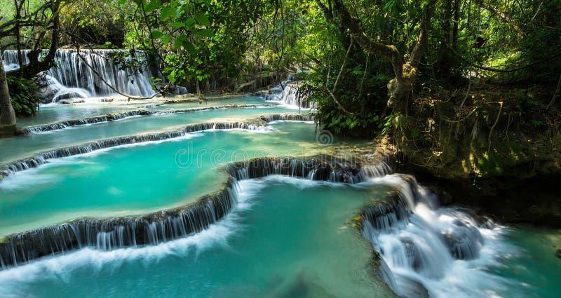 Kuang Si Falls royalty free stock photo