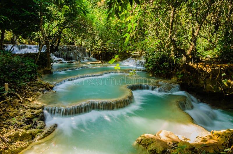 Download Kuang Si Waterfall, Tad Kwangsi Stock Photo - Image: 31834988