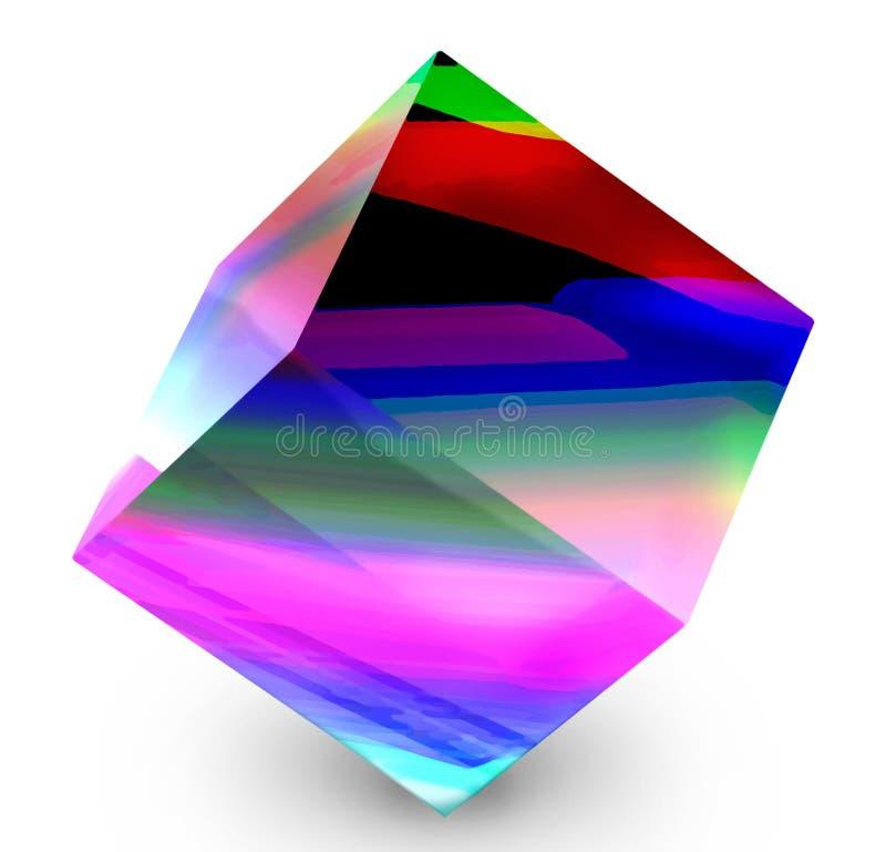 kub vektor illustrationer