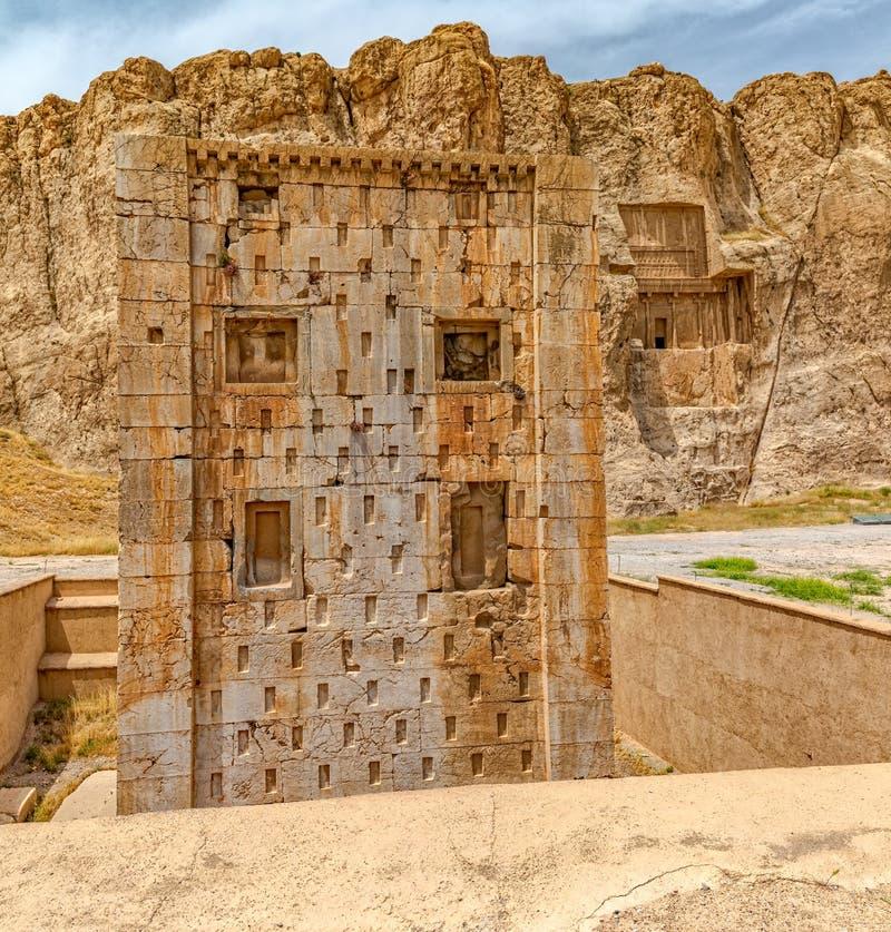 Kub av Zoroaster arkivfoto