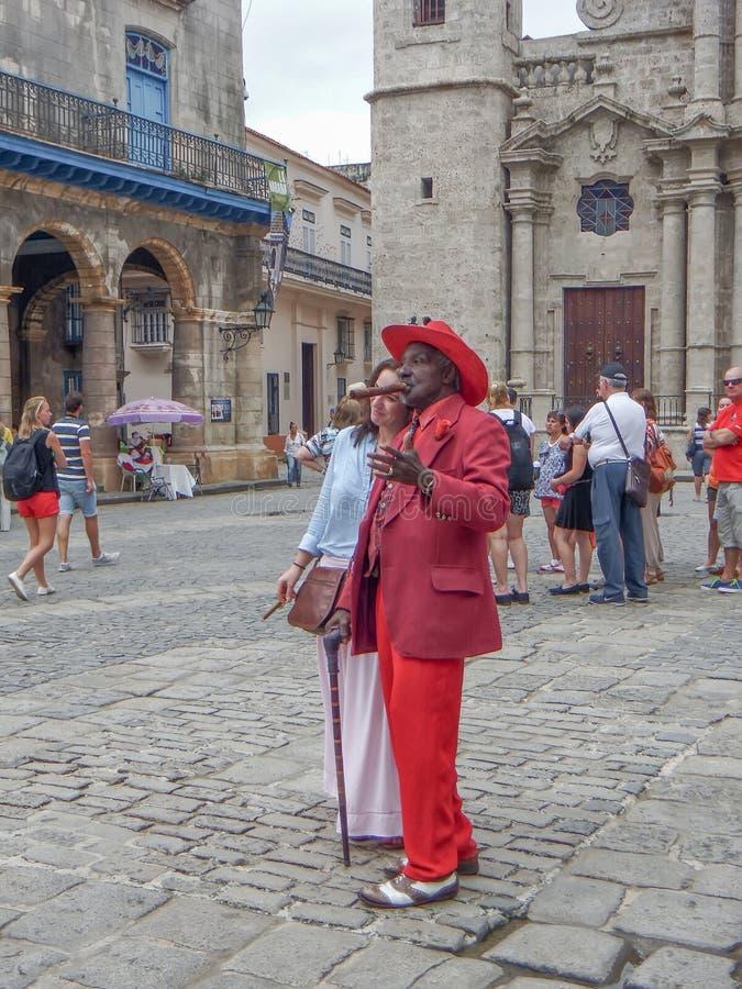 Kubańczycy robią pieniądze zdjęcia stock